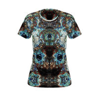 Lunix Psychedelic Women's Shirt (Pima Cotton) - Heady & Handmade