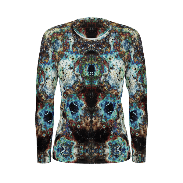 Lunix Psychedelic Women's Long Sleeve (Jersey Knit) - Heady & Handmade