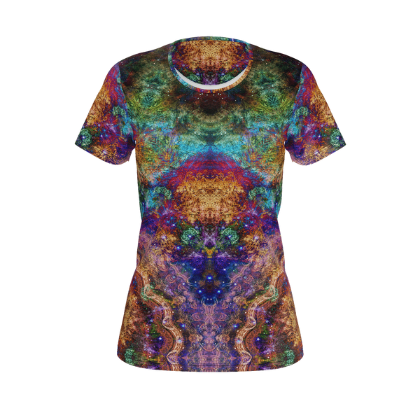 Unitas Psychedelic Women's Shirt (Jersey Knit) - Heady & Handmade