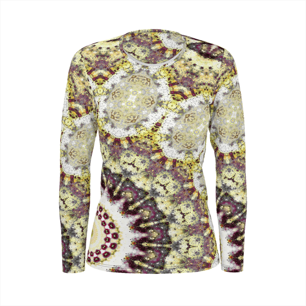 Alchemy Psychedelic Women's Long Sleeve (Pima Cotton) - Heady & Handmade