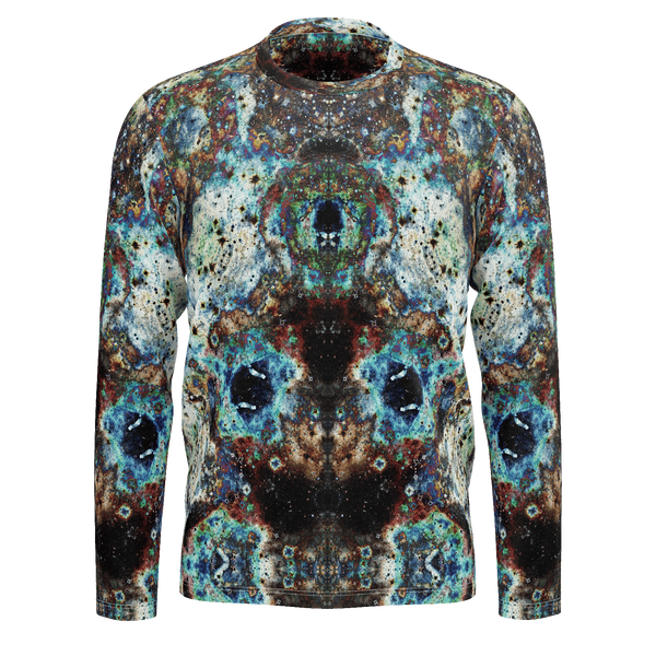 Lunix Psychedelic Men's Long Sleeve (Jersey Knit) - Heady & Handmade