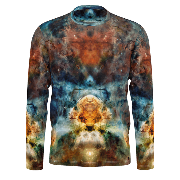 Sylas Psychedelic Men's Long Sleeve (Jersey Knit) - Heady & Handmade