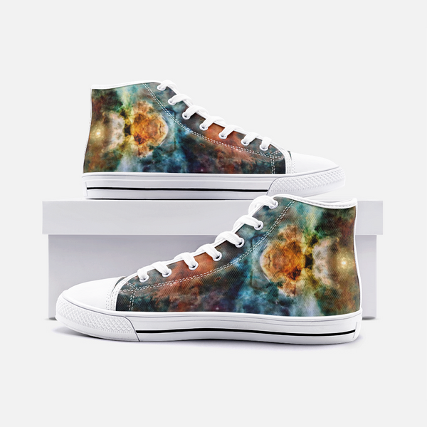 Sylas Psychedelic Canvas High-Tops
