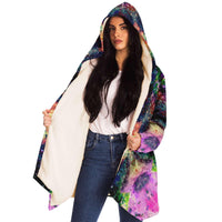 Cotton Candy Cosmos Collection Microfleece Cloak - Heady & Handmade