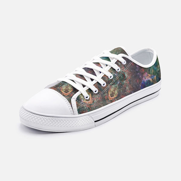 Prismyx Psychedelic Canvas Low-Tops