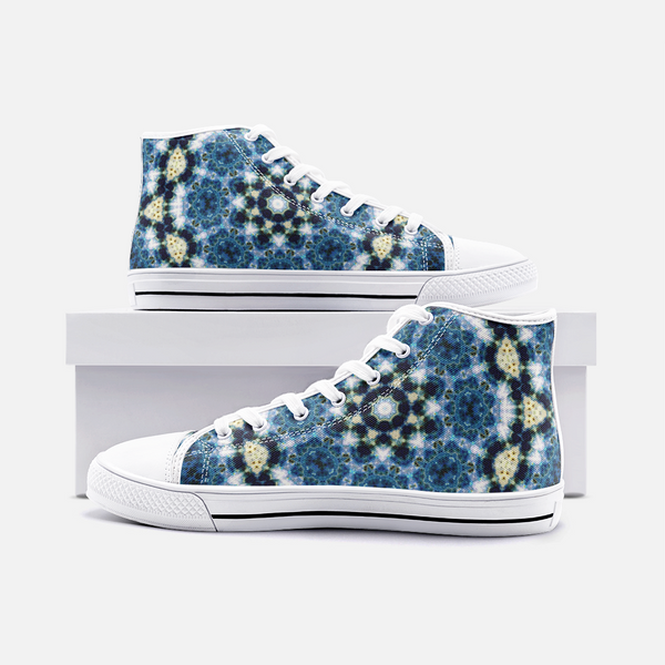 Kithin Psychedelic Canvas High-Tops