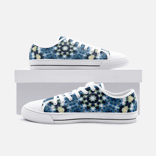 Kithin Psychedelic Canvas Low-Tops
