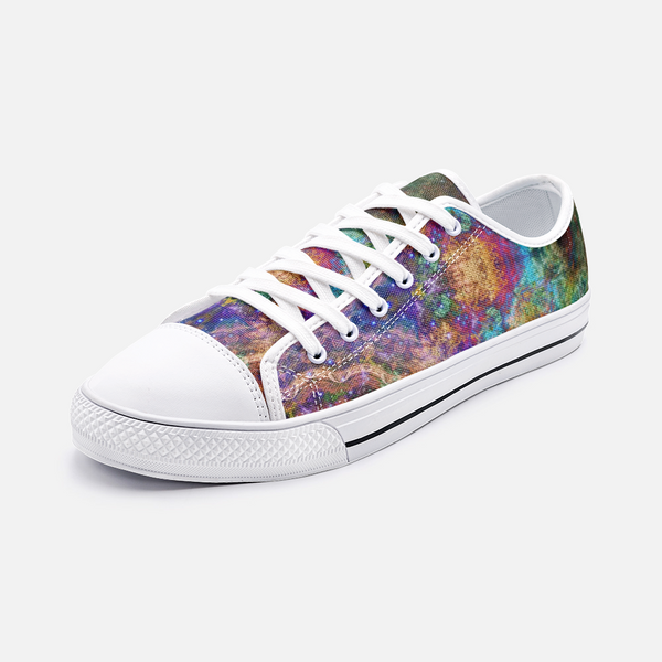 Unitas Psychedelic Canvas Low-Tops