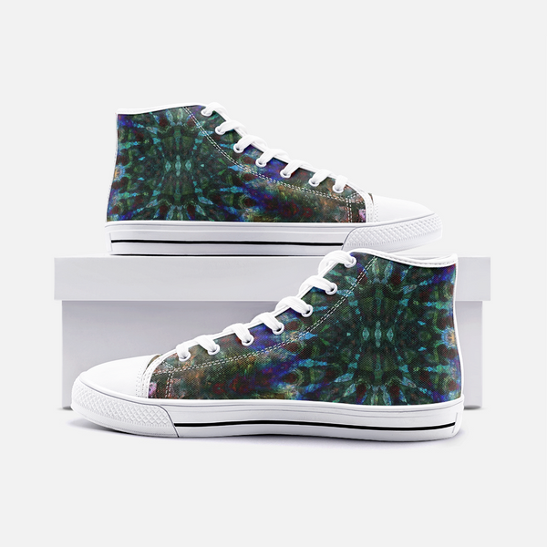 Azule Psychedelic Canvas High-Tops