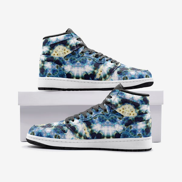 Kithin Psychedelic Full-Style High-Top Sneakers