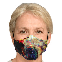 Lucien Psychedelic Adjustable Face Mask (Quantity Discount)