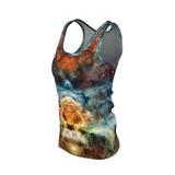 Sylas Psychedelic Women's Tank Top (Pima Cotton) - Heady & Handmade