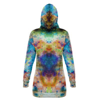 Acquiesce Nightshade Collection Fleece-Lined Long Hoodie - Heady & Handmade