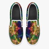 Starflow Psychedelic Slip-On Skate Shoes