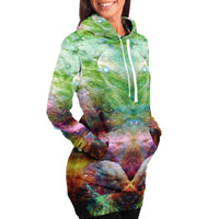 Nammu Collection Fleece-Lined Long Hoodie - Heady & Handmade