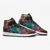 Lucid Psychedelic Full-Style High-Top Sneakers