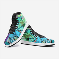Pinwheel Pyxus Psychedelic Full-Style High-Top Sneakers