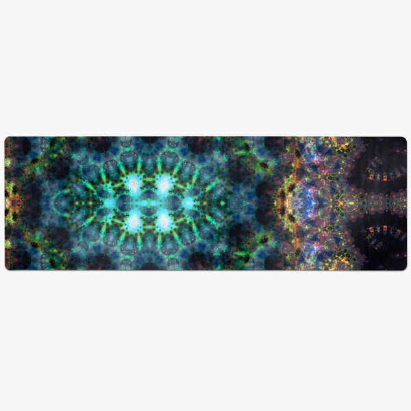 Ceres Psychedelic Suede Anti-Slip Yoga Mat