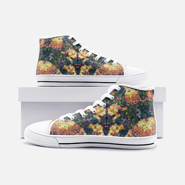 Venus Psychedelic Canvas High-Tops