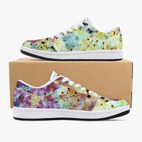 Conscious Psychedelic Split-Style Low-Top Sneakers