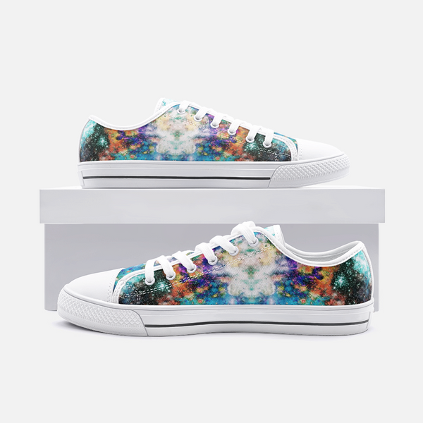 Acquiesce Apothos Psychedelic Canvas Low-Tops