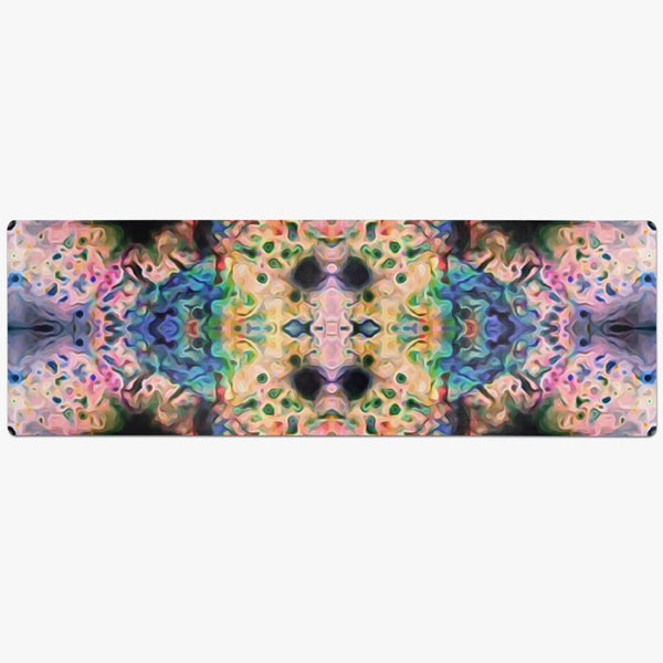 Lurian Wobble Psychedelic Suede Anti-Slip Yoga Mat
