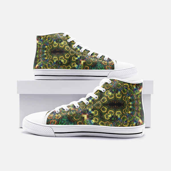 Xerxes Psychedelic Canvas High-Tops