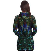 Azule Collection Fleece-Lined Long Hoodie - Heady & Handmade