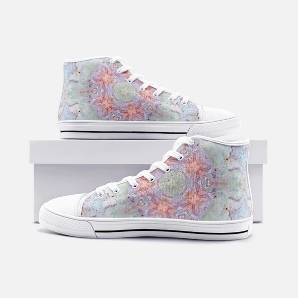 Aphrodite Psychedelic Canvas High-Tops