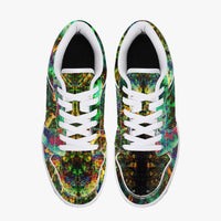 Xerxes Psychedelic Split-Style Low-Top Sneakers