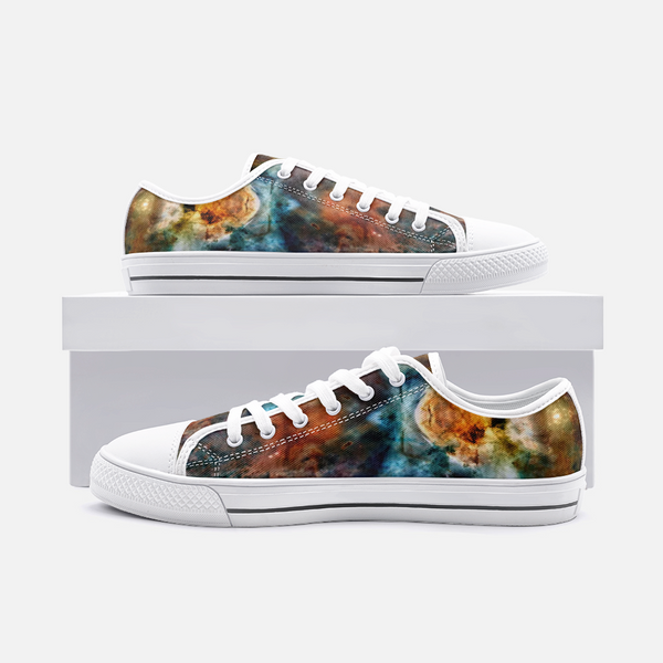 Sylas Psychedelic Canvas Low-Tops
