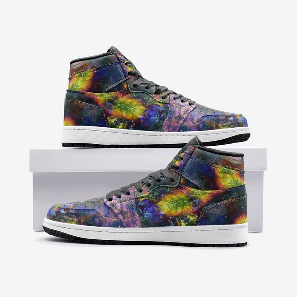 Nox Glow Psychedelic Full-Style High-Top Sneakers