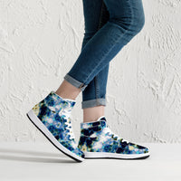 Kithin Psychedelic Split-Style High-Top Sneakers