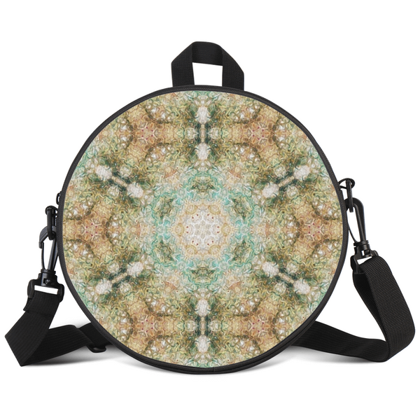 Amberwood Psychedelic Round Rave Bag