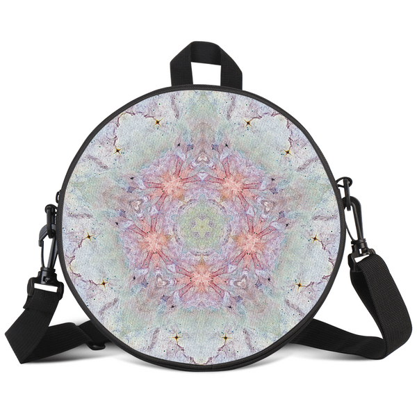 Aphrodite Psychedelic Round Rave Bag