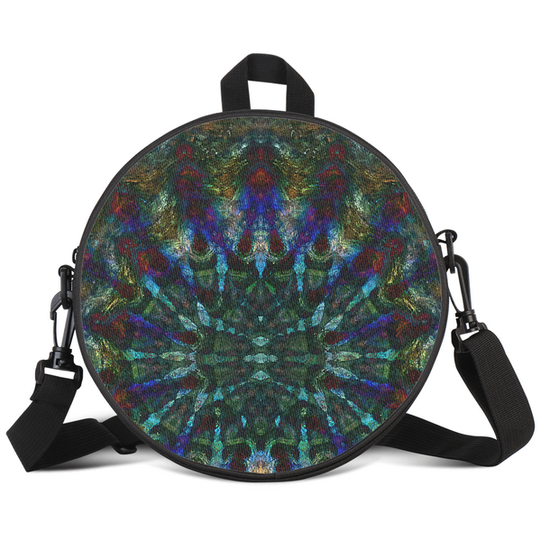 Azule Psychedelic Round Rave Bag
