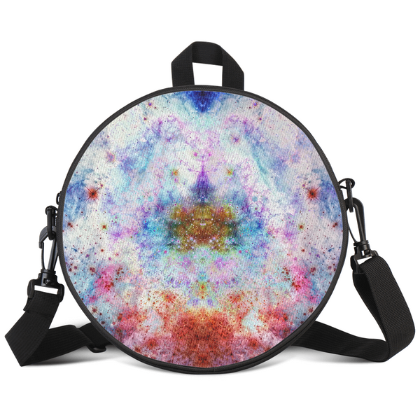 July Psychedelic Round Rave Bag