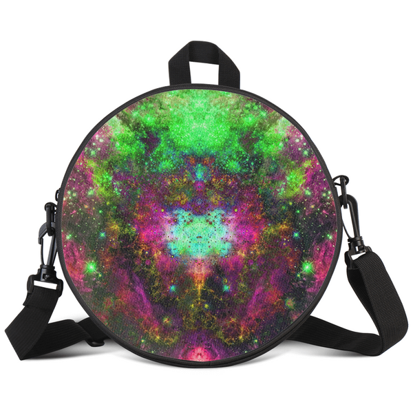 Lilith Psychedelic Round Rave Bag