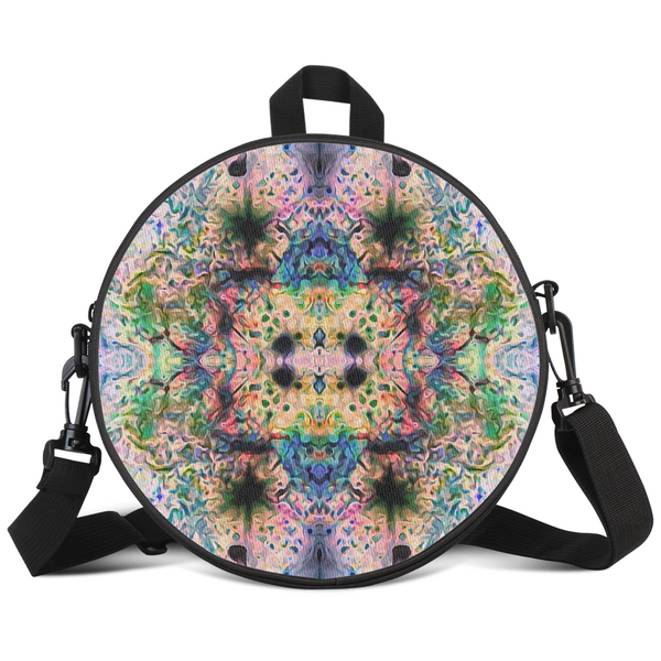 Lurian Wobble Psychedelic Round Rave Bag