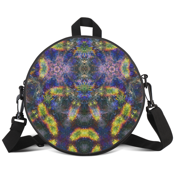 Nox Glow Psychedelic Round Rave Bag