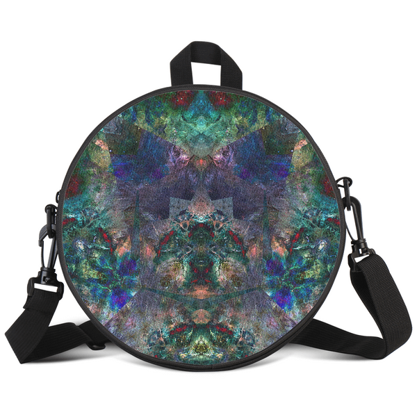 Valendrin Psychedelic Round Rave Bag