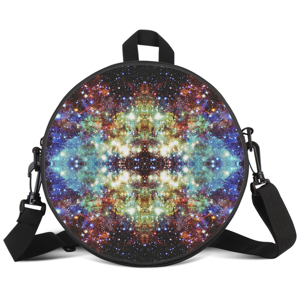 Valhalla Psychedelic Round Rave Bag
