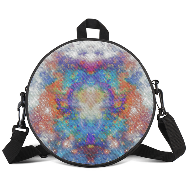 Acquiesce Psychedelic Round Rave Bag