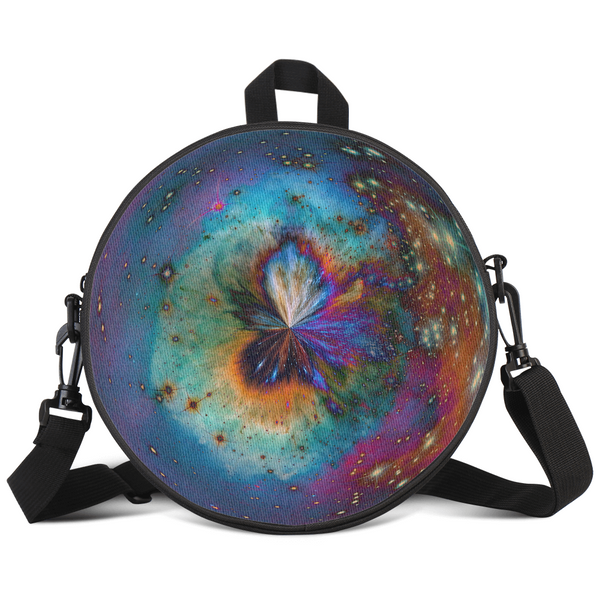 Echo's Sight Psychedelic Round Rave Bag