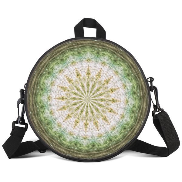 Ecktimber Psychedelic Round Rave Bag