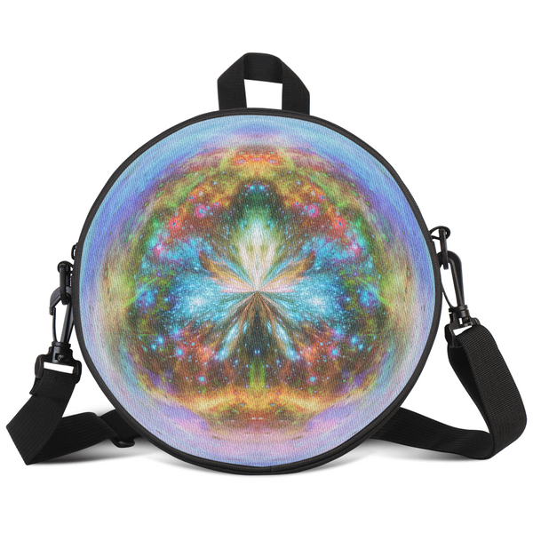 Europa's Heart Psychedelic Round Rave Bag