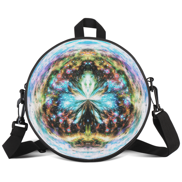 Europa's Heart Apothos Psychedelic Round Rave Bag