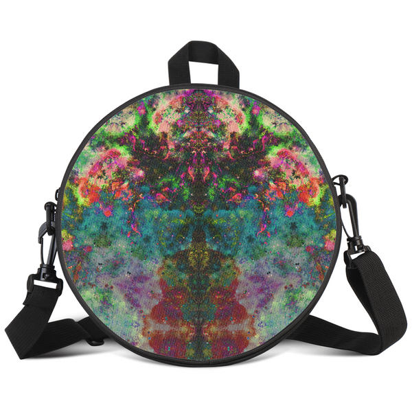 Lucid Psychedelic Round Rave Bag