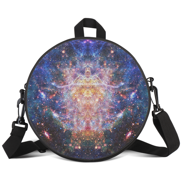 Niari's Shadow Psychedelic Round Rave Bag