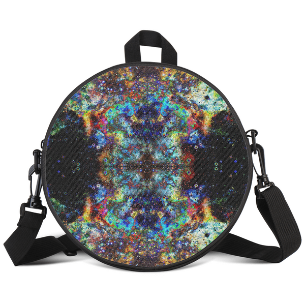 Apoc Psychedelic Round Rave Bag